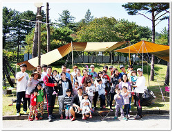 2014.10.03~05 청평 캠핑엔리조트 캠핑장
