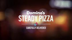 피자배달함 속 무게추와 두개의 진자가 서로 운동하여, 피자가 한쪽으로 쏠리지 않도록 수평을 유지한다 - 브라질(Brazil) 도미노피자(Domino's Pizza)의 혁신적인 배달시스템, 스테디 피자(Steady Pizz..