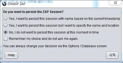 OWASP ZAP User Interface