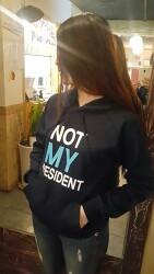 [박근혜 탄핵-하야] NOT MY PRESIDENT 후드티 공동구매!