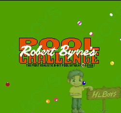 [NES] 로버트 바이른의 풀 챌린지 - Robert Byrne's Pool Challenge