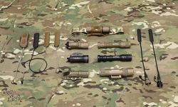 [택티컬 라이트] Tactical light & Pressure switch Colletion