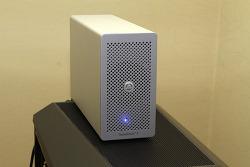 AkitiO Thunder3 PCIe Box 썬더볼트3 속도 테스트