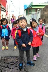 범수 유치원 숲 활동 사진