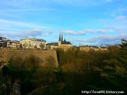 룩셈부르크시티의 풍경들