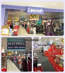 """[호주]""""Lincraft'그림, 공예, 바느질, 뜨게질등 모든 재료가 있어요."""