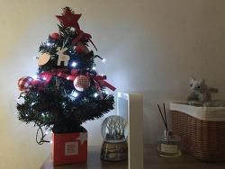 인테리어소품으로 활용도 높은 크리스마스 디오 미니트리!!