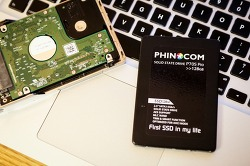 맥북 프로, 3만원짜리 SSD를 품다