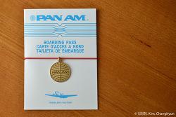 황금색 지구 마크가 생각나는 참 : PAN AM X TF Logo CHARM