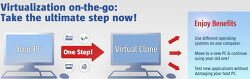 Paragon Virtualization Manager 14 Compact : P2V Copy 프로그램. 하드디스크를 떠서 가상머신 이미지 만들기