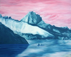 Iceberg 60,5 x 72cm oil on canvas 2015