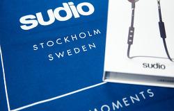 스포티한 디자인의 블루투스 이어폰 Sudio TRE를 소개합니다. ^▽^)/ - 32% 할인코드 포함