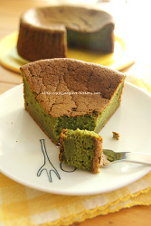 나도 모르게 중독되는  말차가토쇼콜라 케이크