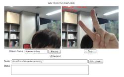 [Wowza] Recording Webcam to Wowza Streaming Engine with Flex