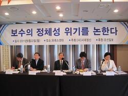 한국 보수우파의 위기와 정체성의 붕괴