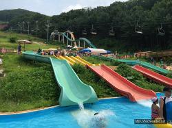 2016년 여름 가족여행 : 용인2박3일, 양지파인리조트, 아쿠아펀