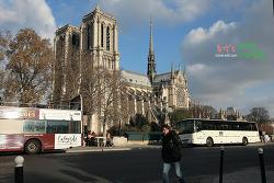 프랑스 파리 여행〃파리 제1의 관광지 노트르담 성당