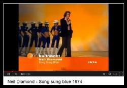 Song Sung Blue (우울한 노래) - Neil Diamond (닐 다이아몬드)