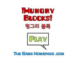 약육강식 헝그리 블록 (Hungry Blocks) - 물고기 키우기와 같은 중독성 플래시 게임