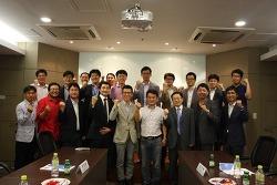 SBA투자기업 현판식 및 간담회 개최 보고