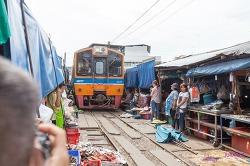 [2014] 태국, 갑자기 떠난 휴가 - 위험한 시장과 수상 시장