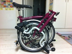 나의 첫 자전거 - Brompton