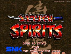 마메(MAME) - 사무라이 쇼다운1 (Samurai Shodown) / 사무라이 스피리츠 (Samurai Spirits)