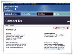 캐나다 SK주정부이민(SINP) 질문 있으면 사무실로 전화하거나 직접 찾아가시면 됩니다.