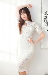 흰색 드레스가 잘 어울리는 그녀 MODEL: 보영 (3-PICS)