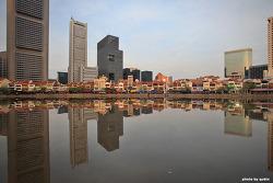 [싱가포르 여행] 보트키의 반영
