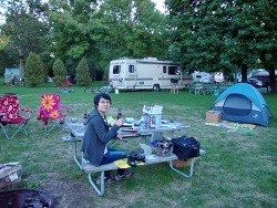 [미국캠핑 #1/4] 미국에서의 첫 캠핑 - 4 Mile Creek 캠핑장 (나이아가라 폭포 근처, 온타리오 호수)