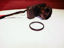 리코 GR, GR2용 후드,어댑터 GH-3, 광각 컨버전 렌즈 GW-3 장착하고 찍은 사진