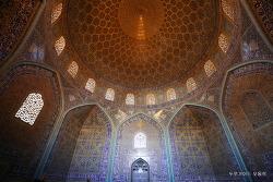 이란, 모자이크 장식은 비길 곳이 없다.