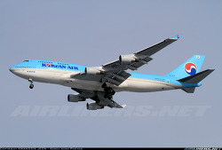 Korean Air / Boeing 747-4B5 / HL7473