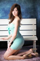 민트색 원피스가 잘 어울리는 그녀 MODEL: 연다빈 (7-PICS)