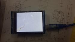 Broken TFT LCD Pictures