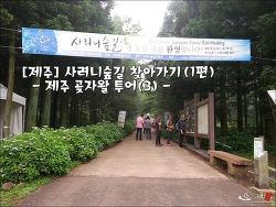 [제주] 사려니숲길 찾아가기(1편) : 제주 곶자왈 투어(3)