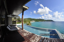 Andaman Sea 바닷속에 푹 빠져드는 감동이 밀려오는 푸켓 카타노이 해변의 풀빌라