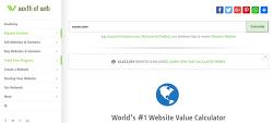 웹사이트 트래픽 가치 확인하기