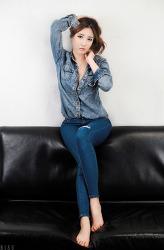 청&청 패션도 이쁘게 소화한 그녀 MODEL: 신세하 (3-PICS)