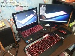 가성비 좋은 타무즈 루마카 게이밍 플런저 키보드 K90 (2. 사용기)