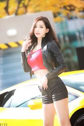 지스타 2015 자켓을 걽친 그녀 MODEL: 이지민 (4-PICS)