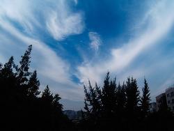 서울 하늘~