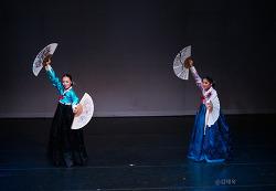 장금도류 권번부채춤