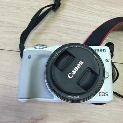 캐논 미러리스M3카메라 샀어요
