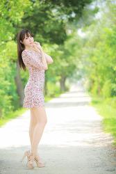 연꽃과 귀여운 그녀 MODEL: 연다빈 (6-PICS)