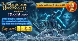 G5 [마법사의 책 - The Magician's Handbook II : BlackLore] 풀버젼 무료 알림(히든오브젝트)