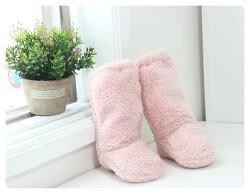 [히트아이템 양털덧신] 다시 돌아온 양털 겨울 롱 덧신!! 핸드메이드(양면 양털소재 -아이보리,네이비, 핑크,브라운) _귀염돋는 실내/ 외출용