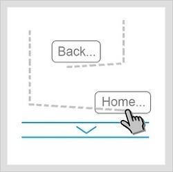 갤럭시탭 10.1 에서의 GMD Gesture Control 사용영상