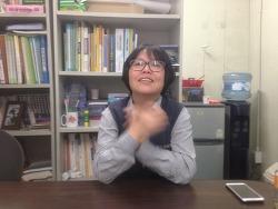 주연테크 노동조합 김영신 회원